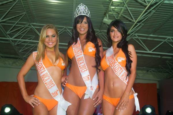 Chica Hooters 2013
